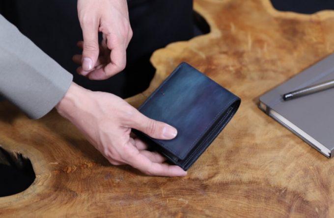 Proof Multi(プルーフマルチ)の二つ折り財布