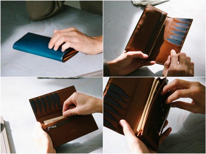 YPF110長財布の各部