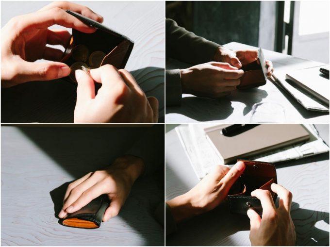 YPF152コインケースの各部