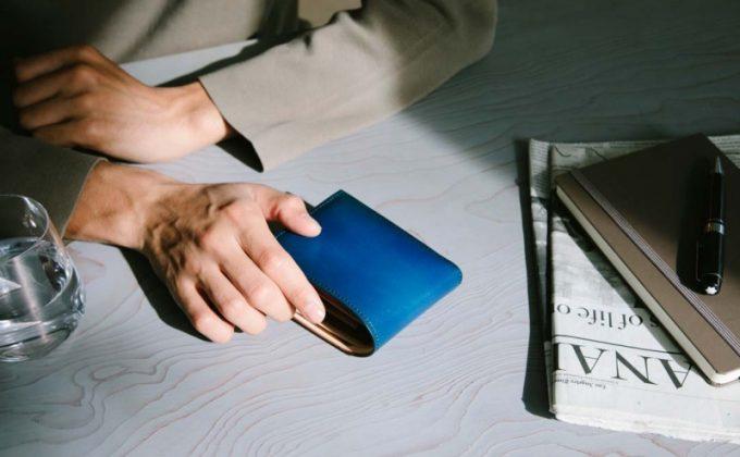 プルーフフォスキーアの二つ折り財布