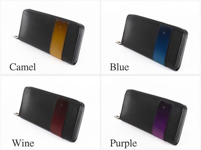 YAL114ラウンドファスナー長財布のカラー種類