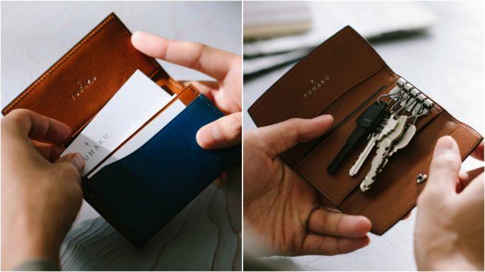 プルーフフォスキーアの財布以外の革製品