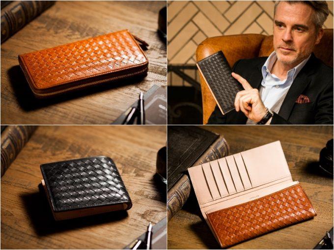 ココマイスター(COCOMEISTER)マットーネシリーズの財布各種
