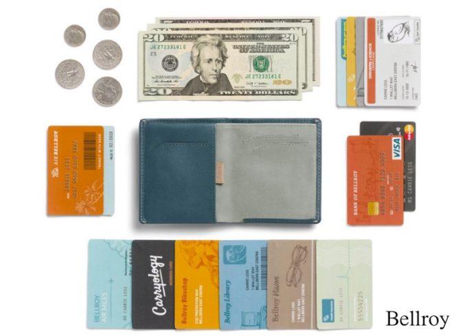 ベルロイの財布ノートスリーブウォレット