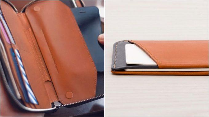 ベルロイの長財布と薄型財布