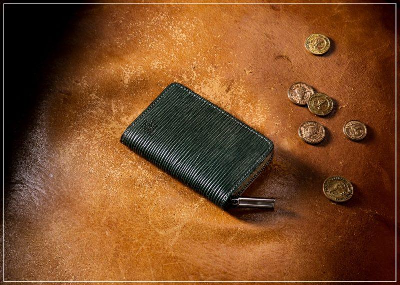ジョリーロジャーシリーズの革財布