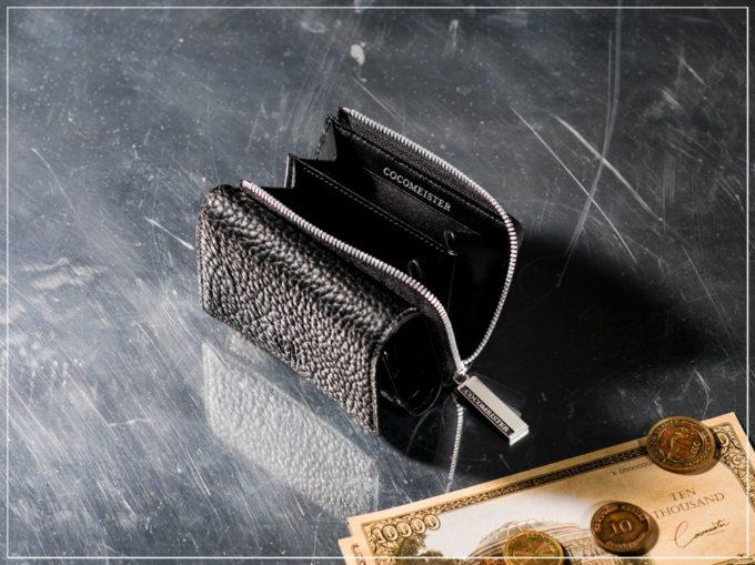 マットシュリンクシリーズの革財布