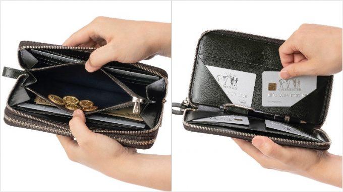 カヴァレオ・マンバの収納ポケット
