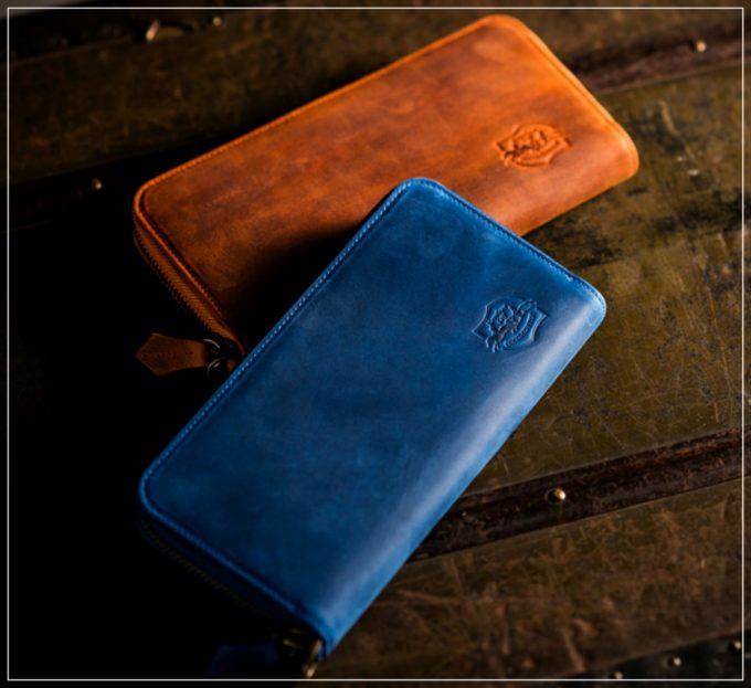 ナポレオンカーフシリーズの革財布