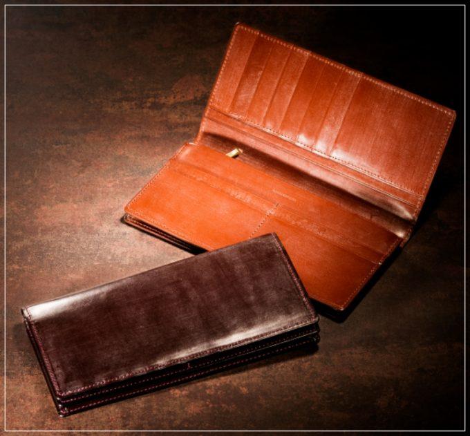 ジョージブライドルシリーズの革財布