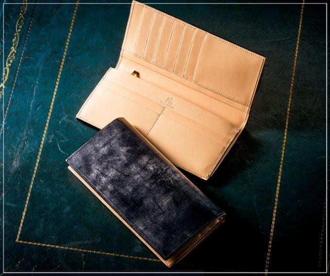 ブライドルシリーズの革財布