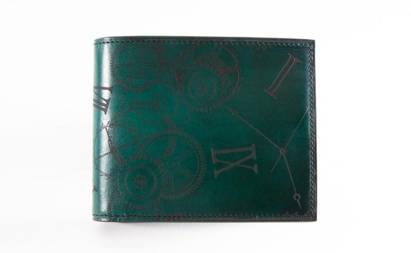 yuhaku・YLW130二つ折り財布(ボックス型小銭入れ付き)
