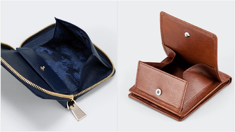アニアリ・二つ折り財布