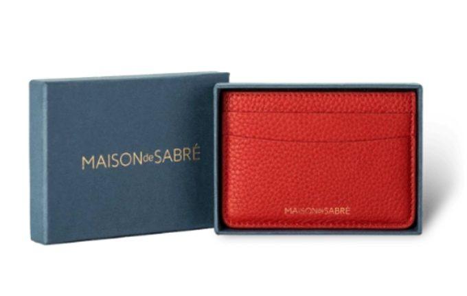 MEISON DE SABRE(メゾンドサブレ)・カードホルダー