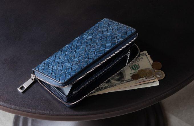 LE'SAC(レ・ザック)のラウンドファスナー長財布