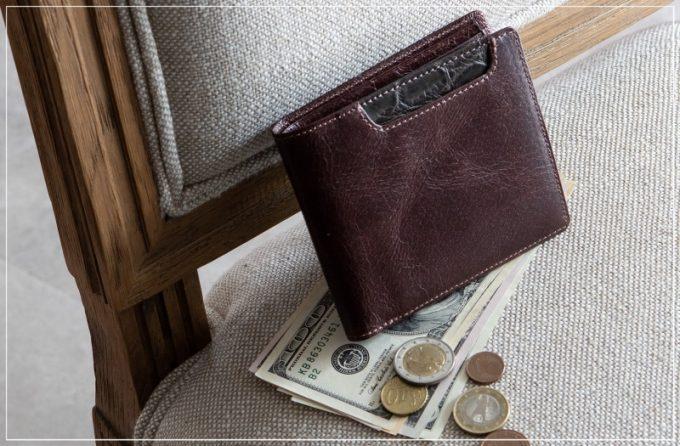 Baggart(バガート)・二つ折り財布