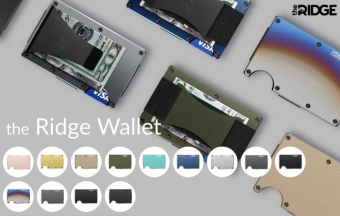 THE RIDGE・ザ リッジ ウォレット(The Ridge Wallet)