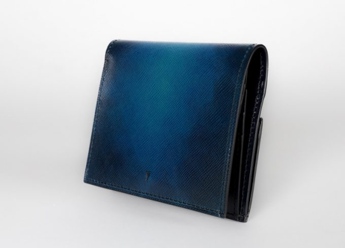 yuhaku・YEV122薄型二つ折り財布