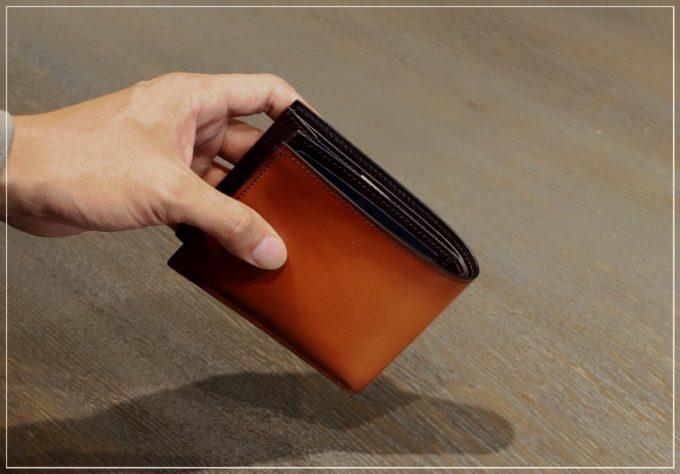 yuhaku・YHK003二つ折り財布
