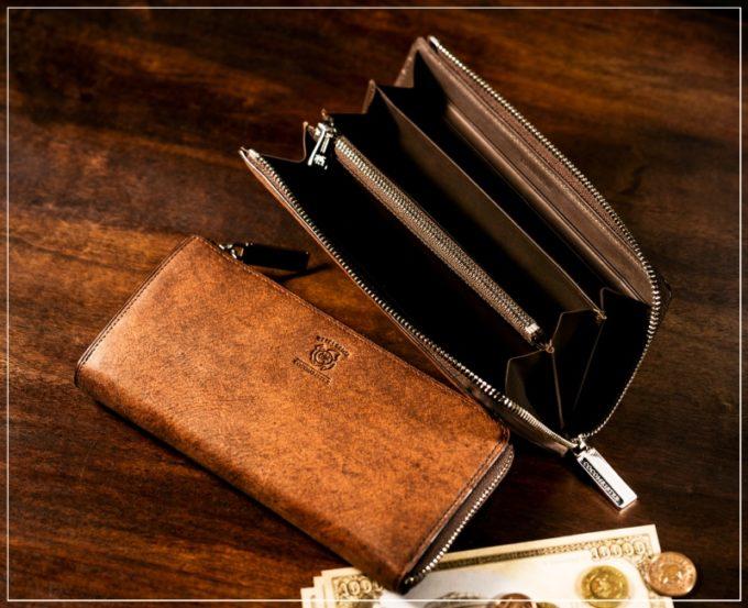 COCOMEISTER(ココマイスター)・ベテルギウスシリーズの革財布