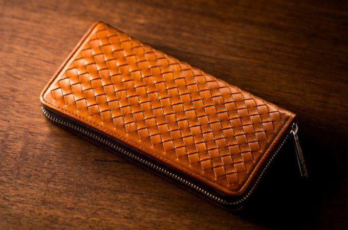 ココマイスターの茶色く格好良い財布(ポンテマットーネの財布)