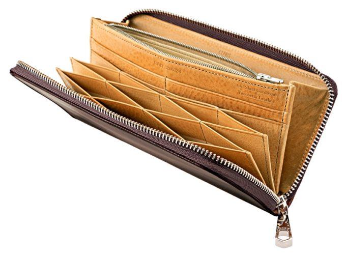 CYPRIS(キプリス)・オイルシェルコードバン&ヴァケッタレザーシリーズの革財布