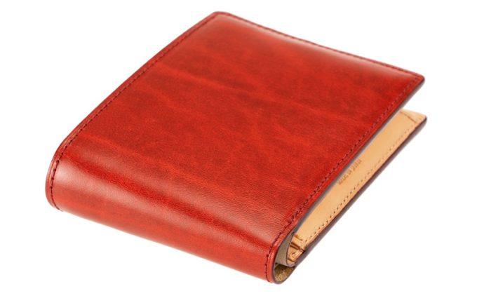 二つ折り財布(小銭入れ付き札入れ)ルーガショルダー&フルベジタブルタンニン