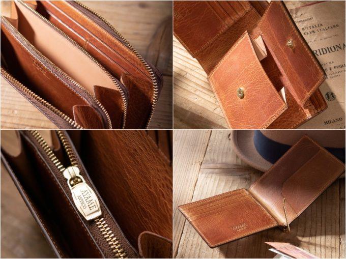エクストラ・プルアップシリーズの各種財布