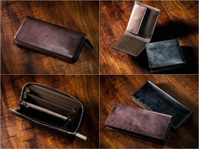 ココマイスター・クラシックコードバンシリーズの各種財布