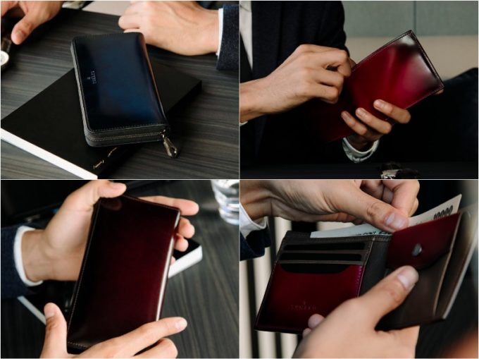 yuhaku・ディアマンシリーズの各種財布