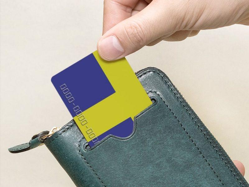 らくらく!電子マネーカード(非接触IC)が反応する財布!