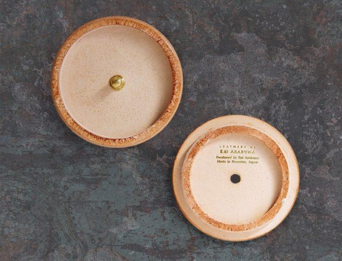 丸形小銭入れ(Round Coin Case)