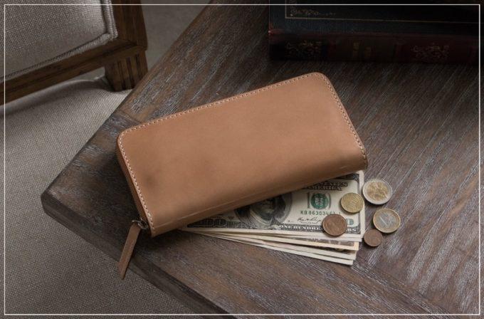 無二・コードバンの財布