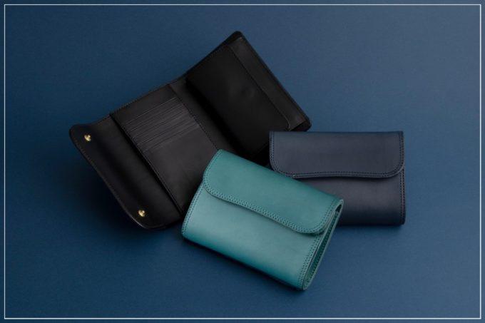 ツラネ(Tsurane)・Wホック&Wステッチミニ財布