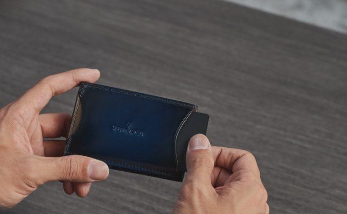 yuhaku(ゆはく)・外装カードポケット付きコインケース