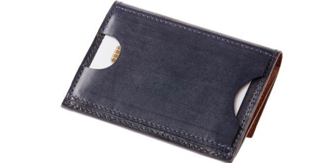 外装カードポケット付き小銭入れ