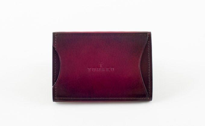 YVE150コインケースのキャッシュレス決済に便利な背面カードポケット