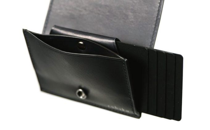 YFF191ミニマルウォレットのカードポケット