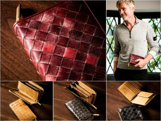 ザオークバークシリーズの財布