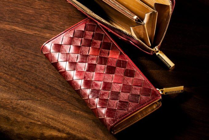 オークバークの財布(L字ファスナー財布トラファルガー)
