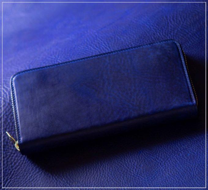 アヤメアンティーコ・エクストラプルアップシリーズの財布