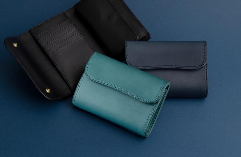 Tsurane(ツラネ)・Wホック&Wステッチミニ財布