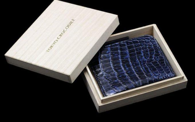 クロコダイル(3種類)L字ファスナーミニ財布