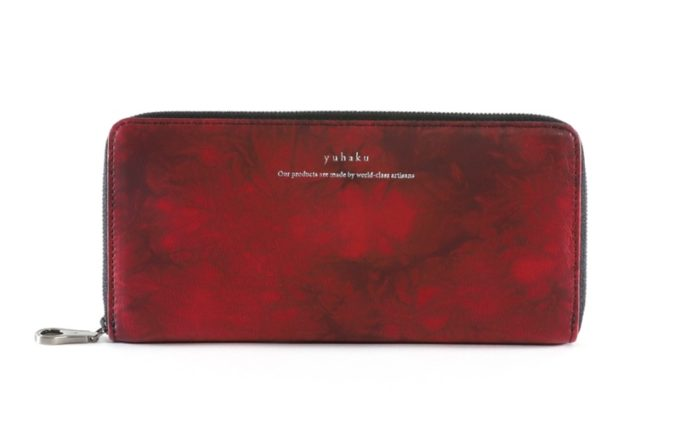 yuhaku・Shiboriシリーズの財布