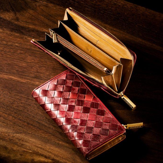 COCOMEISTER・ザオークバークシリーズの財布