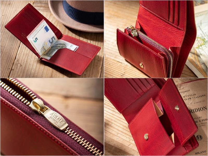 エクストラプルアップシリーズの各種財布