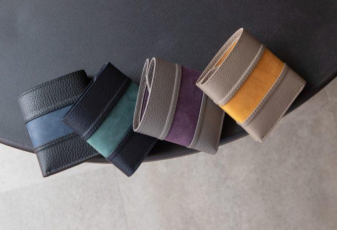 2つ折り財布(コインレス)のカラーバリエーション