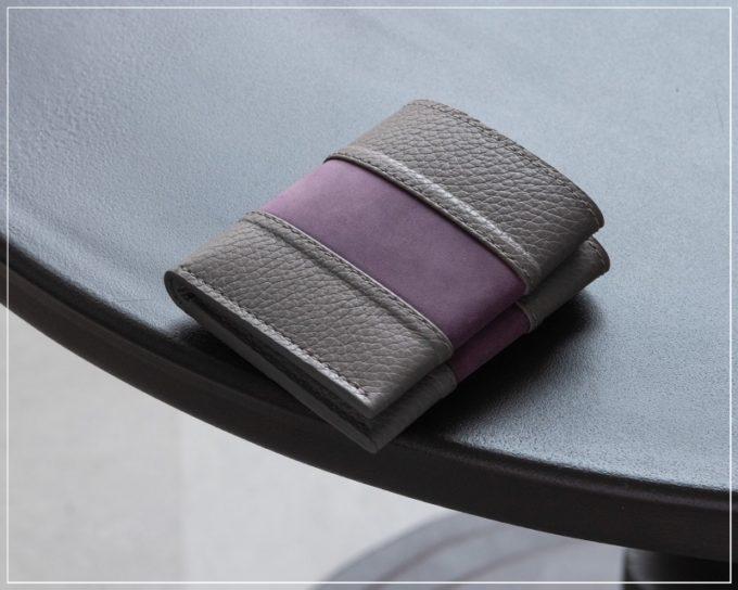 マサミタナカ(MASAMI TANAKA)・2つ折り財布(コインレス)