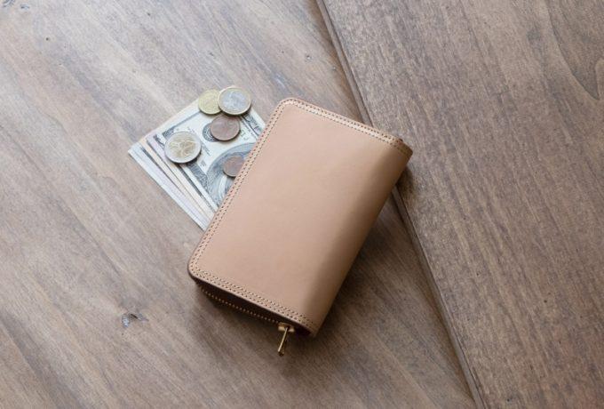 ミニラウンドジップ財布