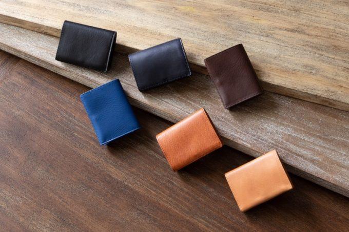 三つ折り財布のカラーバリエーション